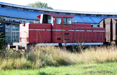 734 201 at Nis Depot on 9th September 2005 (2)