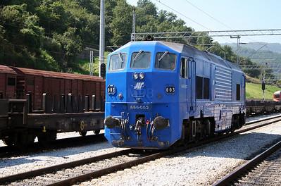 1) 666 003 at Dimitrovgrad on 9th September 2005