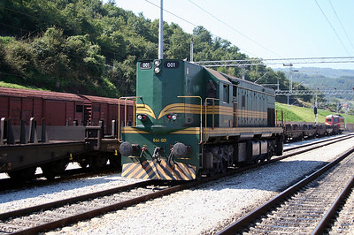 3) 644 001 at Dimitrovgrad on 9th September 2005