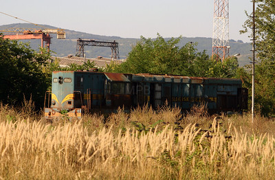 661 260 at Nis Depot on 9th September 2005 (1)