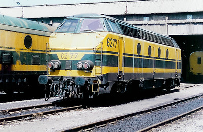 6277 at Monceau Depot on 20th June 1998