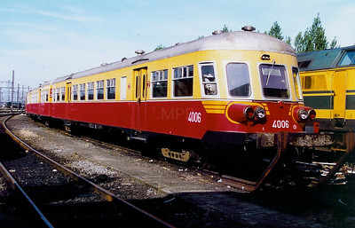 4006 at Kortrijk Depot on 20th June 1998