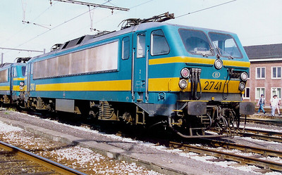 2741 at Kortrijk Depot on 20th June 1998