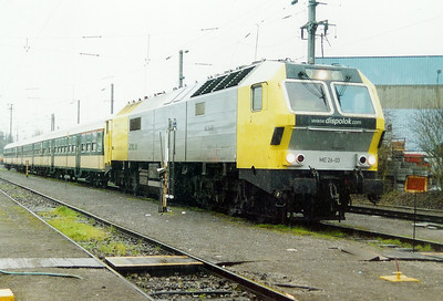 ME 26-03 at Luxembourg Depot on 24th November 2001