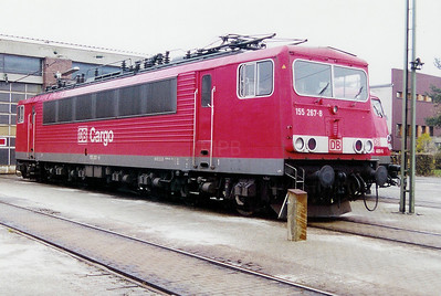 155 267 at Saarbrucken Depot on 24th November 2001