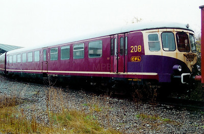 208 at Luxembourg Depot on 24th November 2001