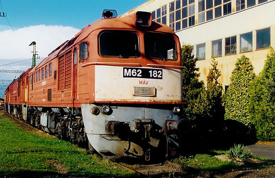 M62 182 at Szombathely Depot on 5th October 2003
