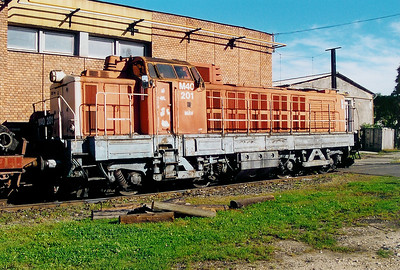 1) M40 201 at Szombathely Depot on 5th October 2003