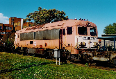 M41 2139 at Szombathely Depot on 5th October 2003
