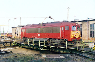 M41 2110 at Ferencvaros Depot on 7th October 2003