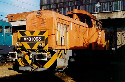 M43 1003 at Ferencvaros Depot on 7th October 2003