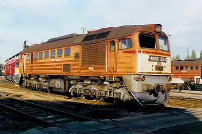 M62 263 at Ferencvaros Depot on 7th October 2003