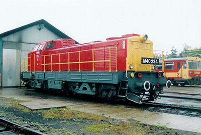 M40 234 at Balassagyarmat Depot on 4th October 2003