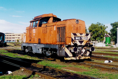 M43 1035 at Szombathely Depot on 5th October 2003