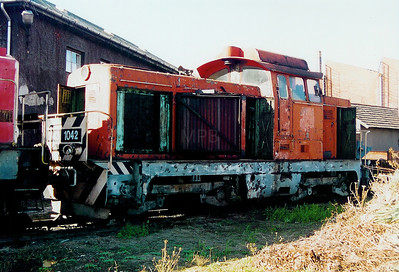 M43 1042 at Szombathely Depot on 5th October 2003