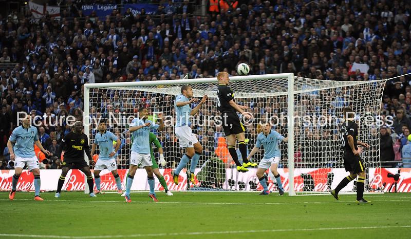 FA Cup Final, Manchester City v Wigan Athletic (0-1), Wembley Stadium, 11/05/2013