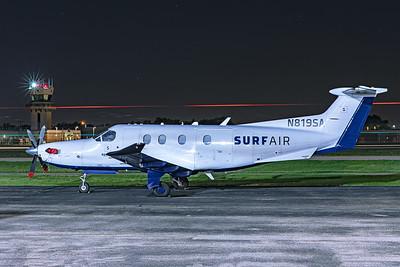 Surf Air Pilatus PC-12-47E N819SA 7-12-20