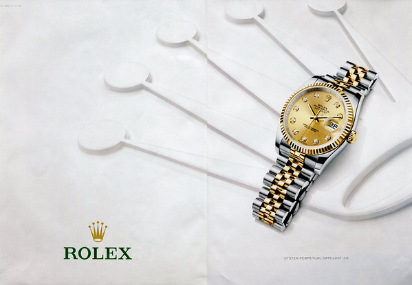 2015 ROLEX Perpetual Datejust 36 Spain (spread Telva)