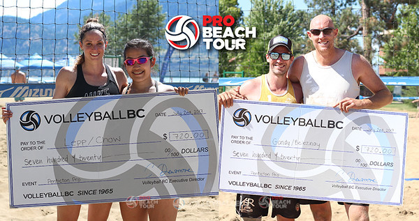 PRO BEACH TOUR WINNERS