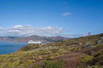... through the Golden Gate