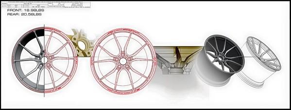 Jotech 5.0.1 Monoblock Forged Wheels