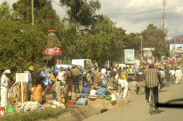 061008b In and around Arusha