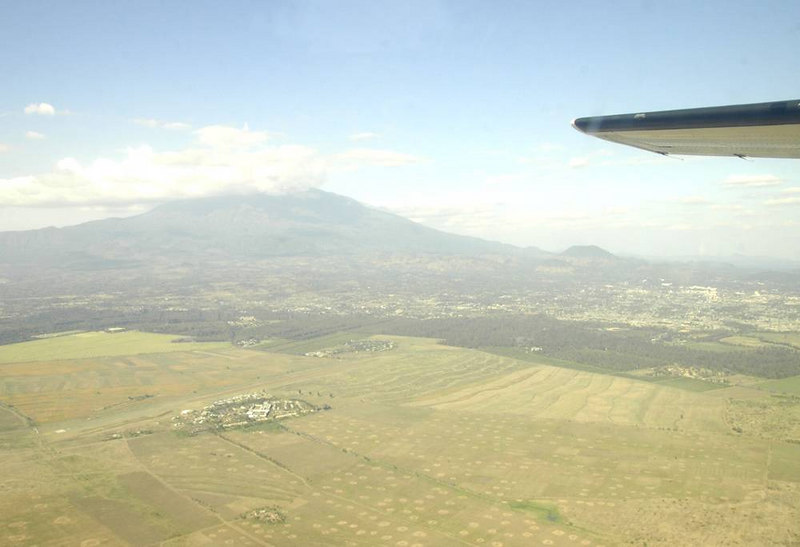 x_08 looking back at Mt Meru and Arusha