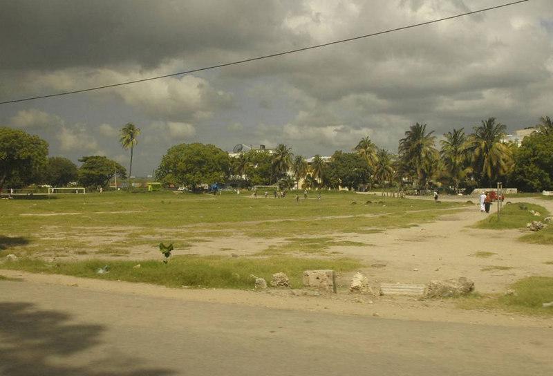 x_27 soccer pitch in public park