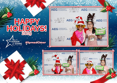 AEG Season of Giving