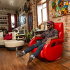 Miya Bailey is a business owner and investor in Castleberry Hill.  He is a tattoo artist who owns City of Ink Tattoos and art galleries all along Walker Street.  (Jenni Girtman / Atlanta Event Photography)