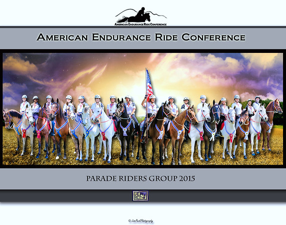 AERC Parade Riders Group Team Photo