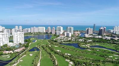 Miami Florida City View at Aventura Shopping Center