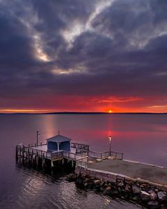 Sunrise in Bayside