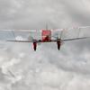 De Havilland DH. 90 Dragonfly G-AEDU en montée après avoir décollé de la 23 à Laon Chambry ( LFAF )<br /> <br /> G-AEDU  -  1937 De Havilland DH90A Dragonfly C/N 7526