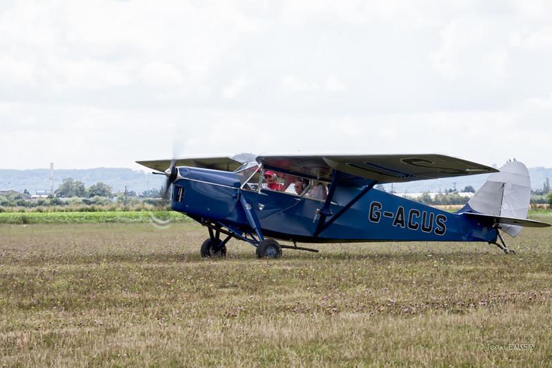 G-ACUS - 1934 De Havilland DH.85 Leopard Moth  N° série 7082