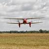 Décollage sur la 23 de Laon-Chambry (LFAF) du De Havilland DH. 90 Dragonfly G-AEDU<br /> Visite de pilotes anglais sur avions de collection à Laon le 25 juillet 2009<br /> <br /> G-AEDU  -  1937 De Havilland DH90A Dragonfly C/N 7526