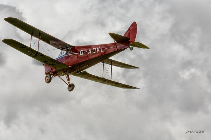 G-ADKL 1935 De Havilland DH87B HORNET MOTH C/N 8035