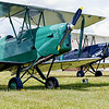G-ANJD, 1941 De Havilland DH-82A Tiger Moth II, C/N: 84652 et G-AIDS de Havilland DH82A Tiger Moth II