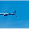 Simulation de ravitaillement en vol entre un Boeing KC-135 Stratotanker de l'Armée de l'Air et deux Mirage 2000.<br /> Sur la Base 112 de Reims, le 28 juin 2009, lors du Meeting du Centenaire, une manifestation aérienne « historique » organisée pour commémorer les cent ans de la Grande Semaine d'Aviation de la Champagne, premier meeting international d'aviation de l'histoire