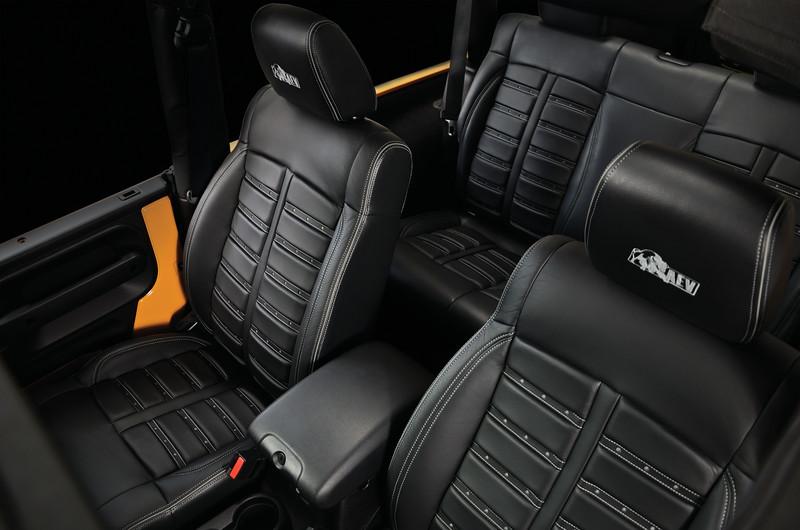 AEV F-1 Style Leather Interior