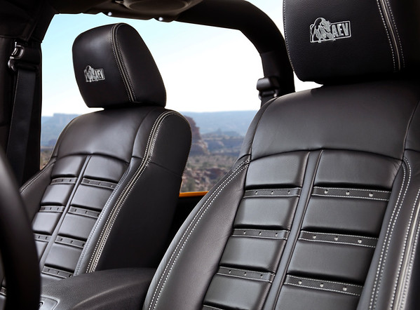 AEV F-1 Leather Interior