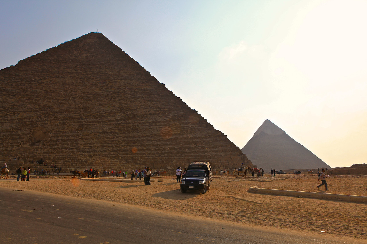 Fortunately we visited the Pyramid Complex following the revolution in 2011, so visitors were off by over 80%.