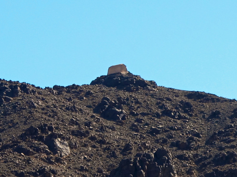 There is a small mountain to the south of the monestary called Jethro's Mountain or  This site is where Jethro and his daughters were supposed to have lived when Moses first came to Mount Sinai. The small white church on its summit is dedicated to both Saint Theodore the Commander and Saint Theodore the Tyro.