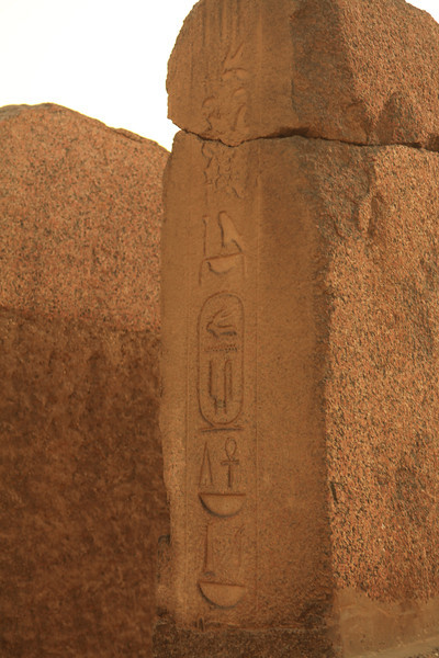 In many spots throughout the complex, heiroglyphics are still very prominent even though they are over 4500 years old.