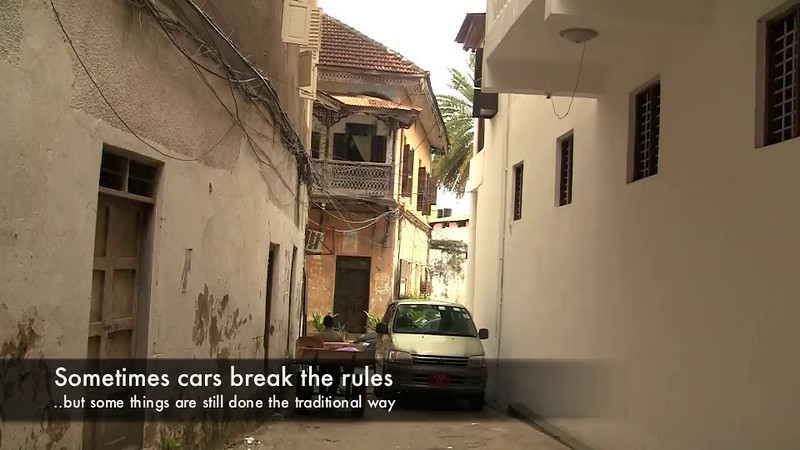A tour of Stone Town, the main city on Zanzibar and a UNESCO World Heritage Site  This video is approximately 7 minutes long.