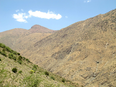 Above the village of Setti Fatma, you can take many other hikes.  You can see the trails criss crossing the mountains above the village.