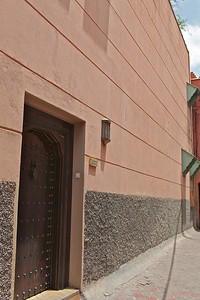 We stayed at Riad Kniza, which is located just off one of the main pathways.