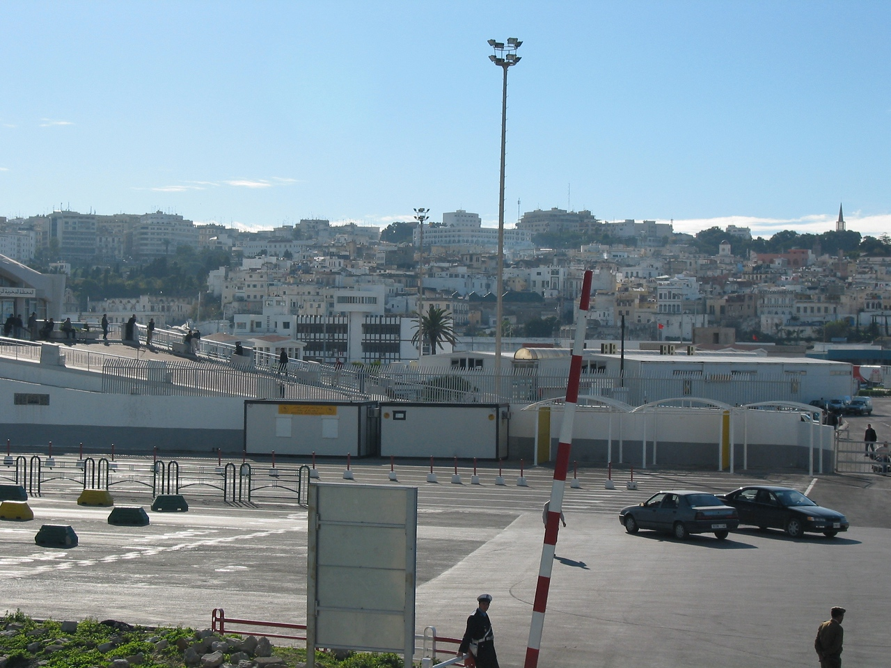 A look back at Tangier as we depart.