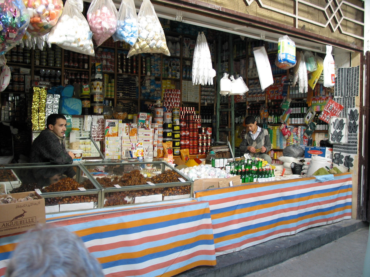 At many of the stalls in the old city, there's almost nothing that you can't find.