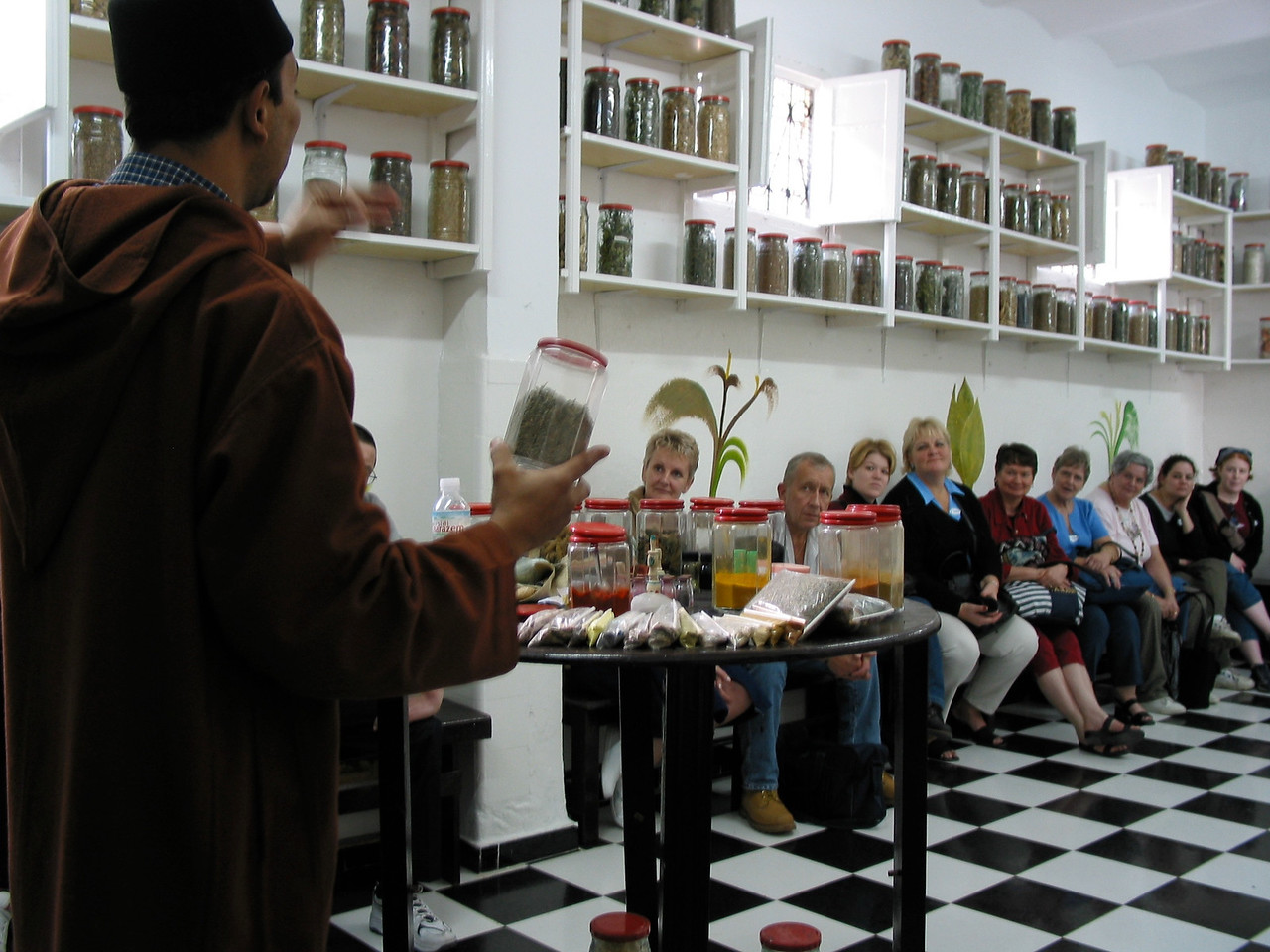 """You can also stop at local spice shops where they'll """"educate"""" you on different spices.  While it's worth the trip, again, the hard sell awaits and many times, you can get spices in the market much cheaper."""